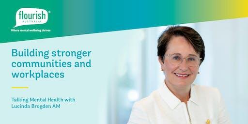 Flourish Australia Mental Health Breakfast with Lucinda Brogden AM