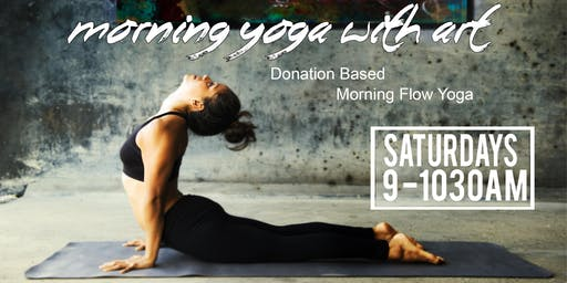 Morning Flow Yoga With Art