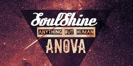 SoulShine w/ Anything But Human and ANOVA in The Ridglea Lounge tickets