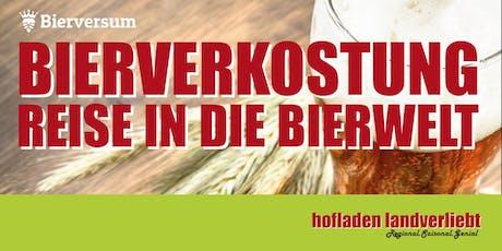 Reise in die Bierwelt Tickets