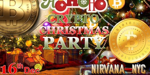 Crypto Christmas Party & Networking Event