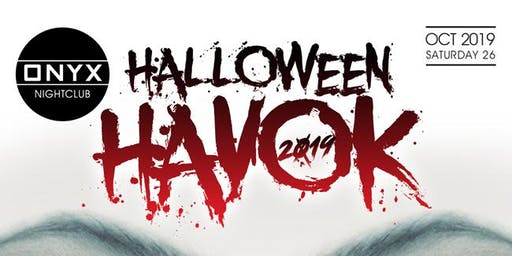 Halloween Havok at  Onyx Room San Diego Halloween Party