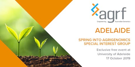 Spring into Agrigenomics Special Interest Group  tickets