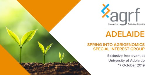 Spring into Agrigenomics Special Interest Group