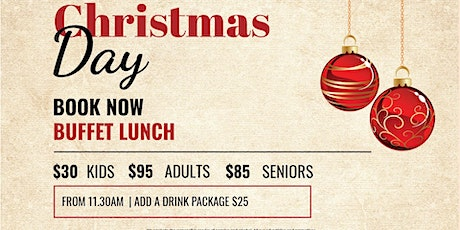 Christmas Day Lunch 2019 @ The Wanneroo tickets