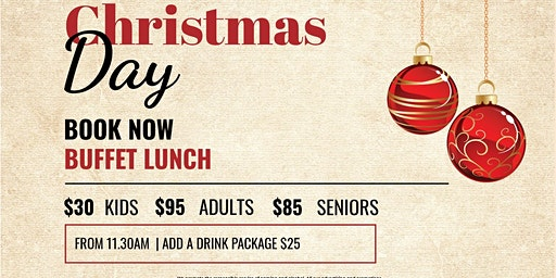 Christmas Day Lunch 2019 @ The Wanneroo