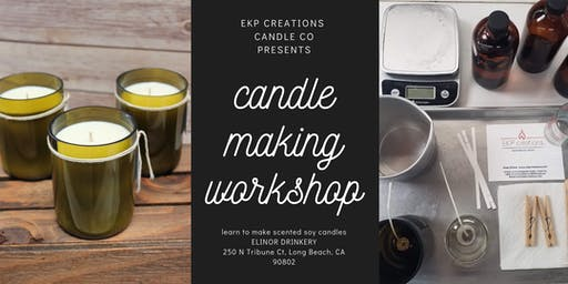 October Candle Making Class #2