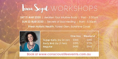 Awaken Your Intuitive Body with Inna Segal tickets