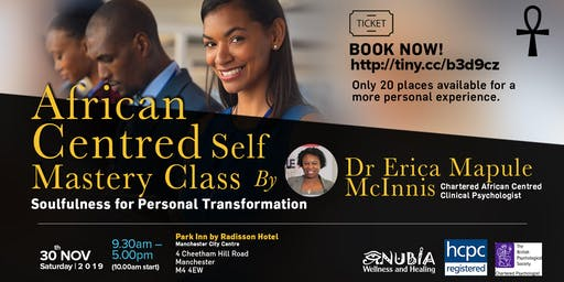 African Centred Self Mastery Class: Soulfulness for Personal Transformation