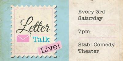 Letter Talk Live - October 2019