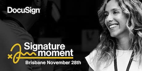 Signature Moment Brisbane tickets