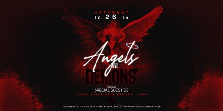 Angels and Demons at Ainsworth Midtown Halloween Party (Open Vodka Bar 9-10pm) tickets
