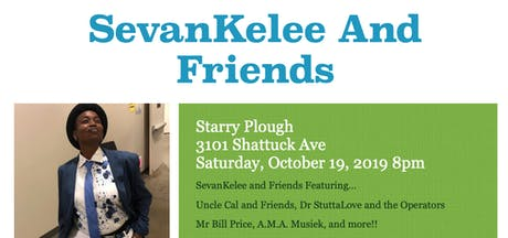 Sevan Kelee and Friends @ The Starry Plough Pub tickets