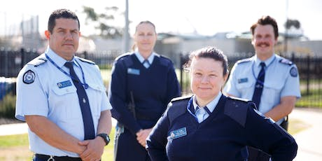 New career as a prison officer at DPFC. Free Info Session – Taylors Lakes tickets