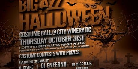 Big Azz Halloween Costume Ball @ City Winery DC  tickets