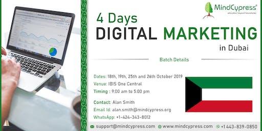 Digital Marketing 4 Days Training by MindCypress at Dubai