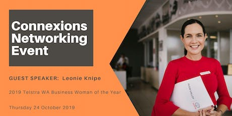 Perth Connexions - Networking for Business Women 24 October 2019 tickets