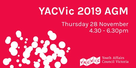 YACVic 2019 AGM tickets
