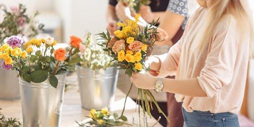 Mums & Co. Mumma Got Skills Workshop - Vase Painting & Flower Arrangement