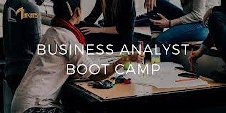 Business Analyst 4 Days Virtual Live BootCamp in Milan biglietti