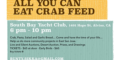 Rotary SJEE Annual Crab Feed Fundraiser  tickets