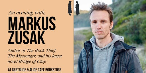AN EVENING WITH MARKUS ZUSAK