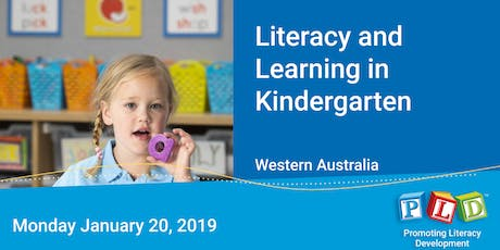 Literacy and Learning in Kindergarten January 2020 tickets