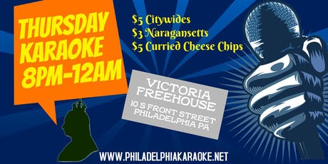Thursday Karaoke at Victoria Freehouse (Philadelphia) tickets