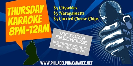 Thursday Karaoke at Victoria Freehouse (Philadelphia) tickets