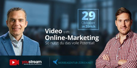 Video trifft Online-Marketing – So nutzt du das volle Potential! Tickets
