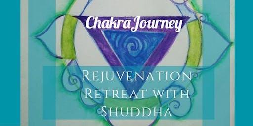 Chakra Journey Rejunvenation Retreat with Shuddha
