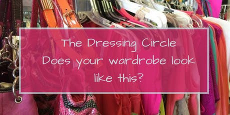 October 'Dressing Circle' - Why De-cluttering is Such a Challenge tickets