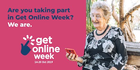 Get Online Week - Digital Scavenger Hunt tickets