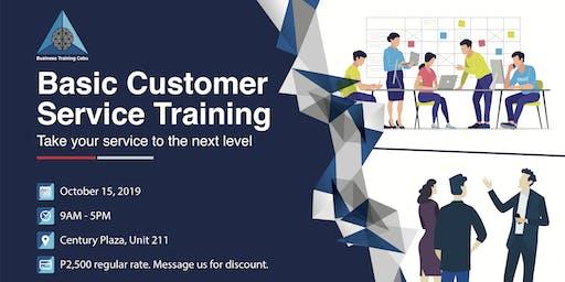 Basic Customer Service Training