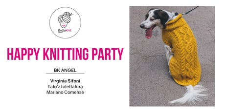 Knitting Party - Pino Dog Coat - Mariano Comense biglietti
