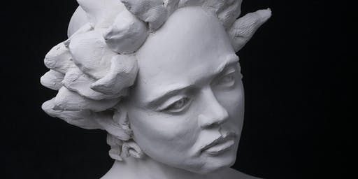 Sculpt a portrait in clay
