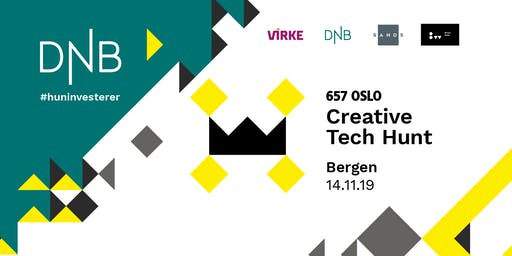 CreativeTech Hunt x DNB #huninvesterer @Bergen Works
