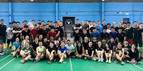 Versal Badminton Club-15/10/2019 tickets
