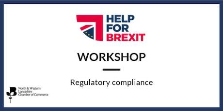 Brexit Workshop - Regulatory Compliance tickets