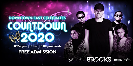 Downtown East Celebrates Countdown 2020