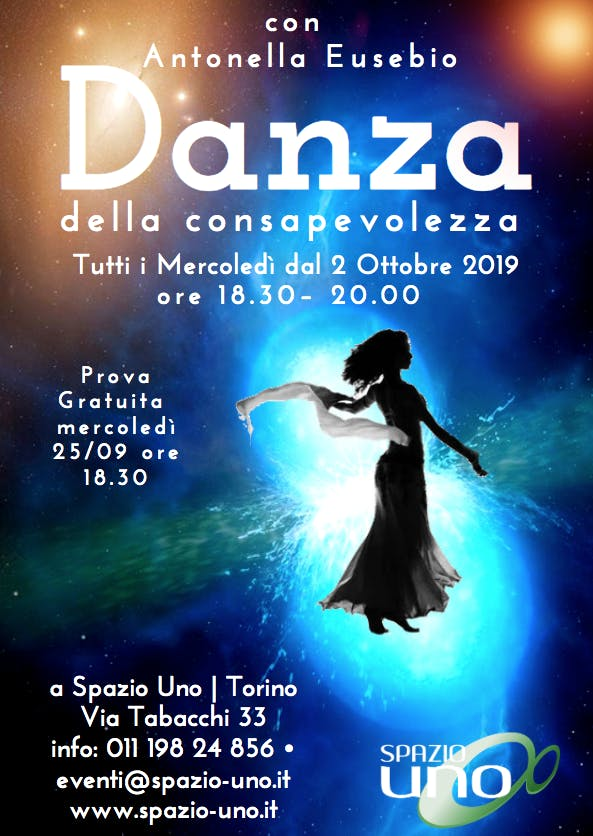 Danza della Consapevolezza con Antonella Eusebio