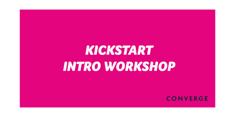 Kickstart your business with Converge tickets