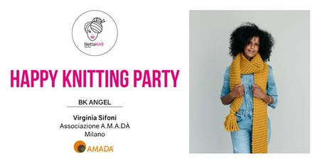 Knitting Party - Sally Scarf - MILANO biglietti