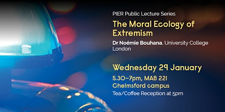 The Moral Ecology of Extremism tickets