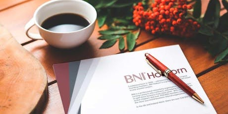 Holborn BNI Breakfast Networking Event - October 2019 tickets