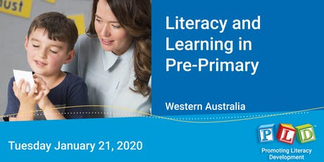 Literacy and Learning in Pre-Primary January 2020 tickets