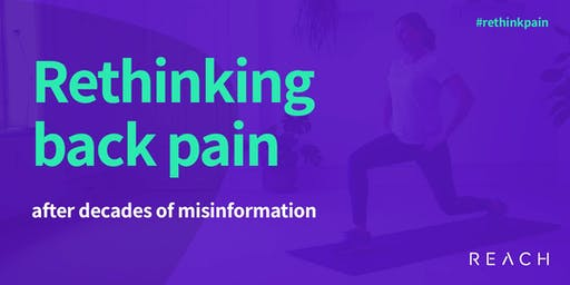 Rethinking back pain after decades of misinformation