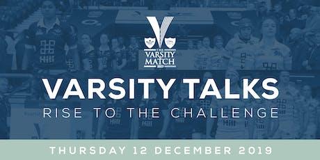 Varsity Talks - 12 December, Twickenham Stadium tickets