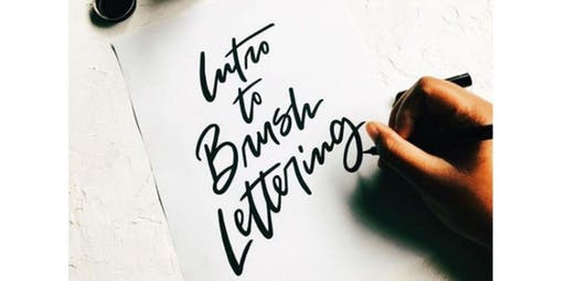 Intro to Brush Lettering (2019-11-09 starts at 2:30 PM)