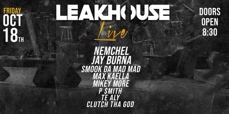 LeakHouse LIVE tickets